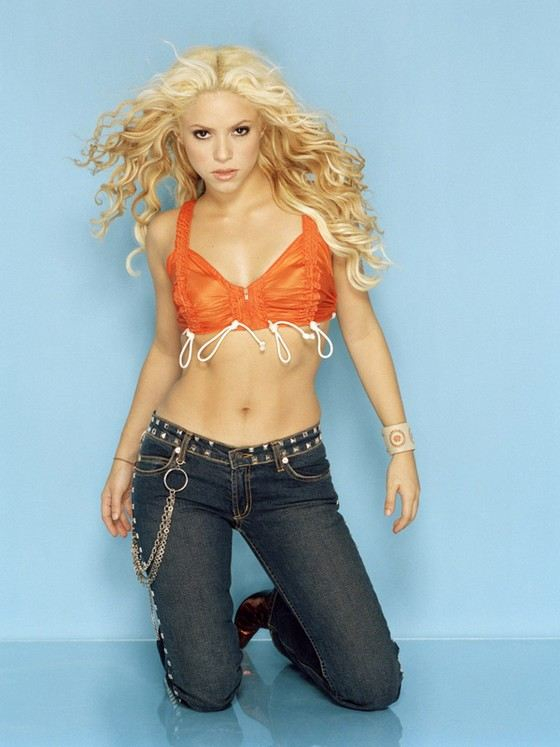 Shakira is one of the smallest celebrities.
