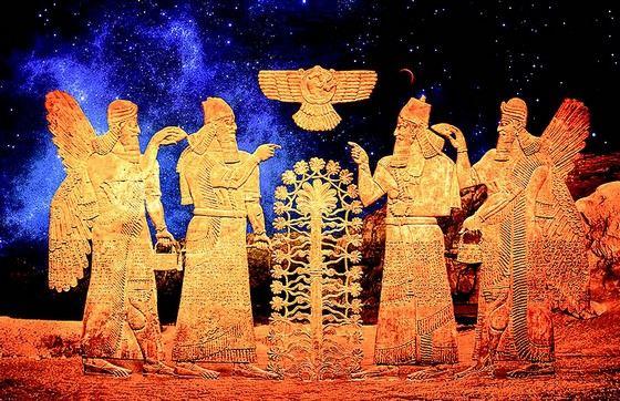 У шумеров была своя древняя религия