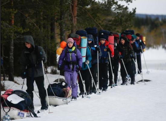 Кузбасские подростки отправились в экспедицию к Северному полюсу