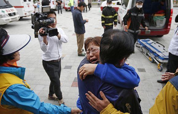 В Южной Корее хотят арестовать капитана парома «Сэволь»