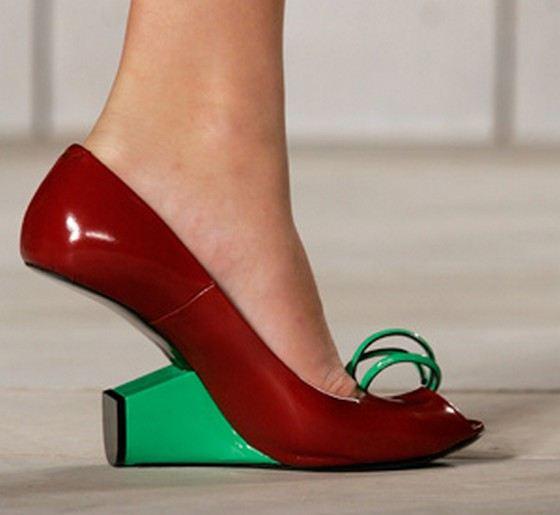 Самая сексуальная форма каблука