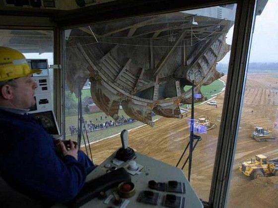 ТОП-4 самых больших экскаваторов в мире