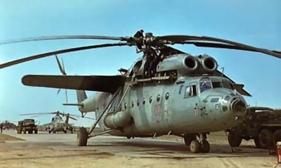 Ми-6 большой советский транспортный вертолет
