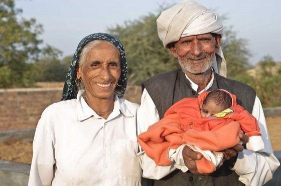 Раджо Деви Лохан самая старая индийская мама