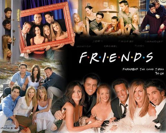 Сериал «Друзья» популярен во многих странах