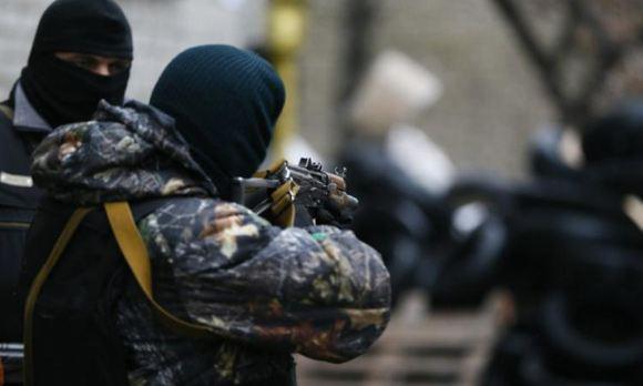 На блокпосте на въезде в Славянск произошла перестрелка