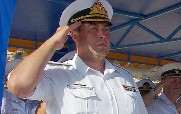 Путин назначил Дениса Березовского заместителем командующего Черноморским флотом