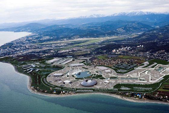 Олимпийские объекты в Сочи 2014