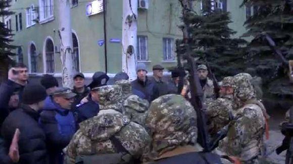 Сторонники федерализации захватили краматорскую милицию