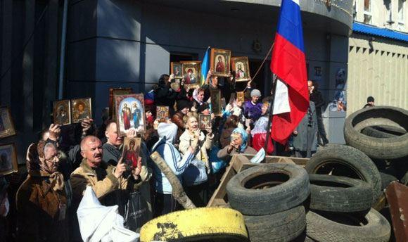 В Луганске хотят провести референдум в два этапа