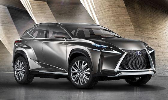 Lexus представляет новый компактный кроссовер Lexus NX