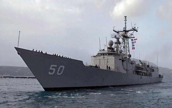 В акватории Черного моря появился еще один американский корабль