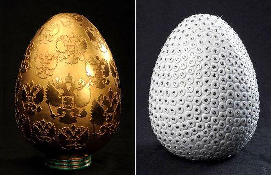 Фарфоровое пасхальное яйцо