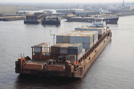 Грузоперевозки водным транспортом по реке Лена