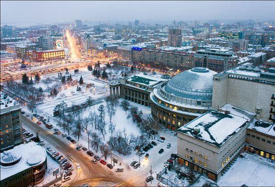 Новосибирск - третий из списка самый больших городов России