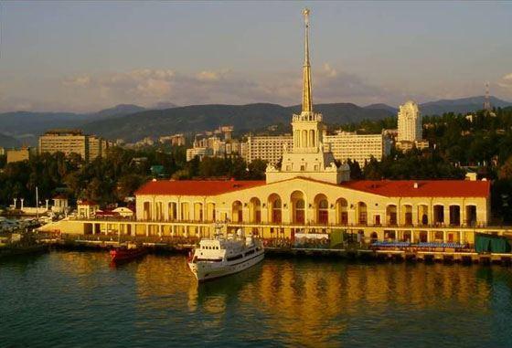 Сочи - самый большой город в России на юге