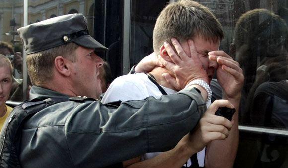 В Питере отпустили на свободу «Жемчужного прапорщика»