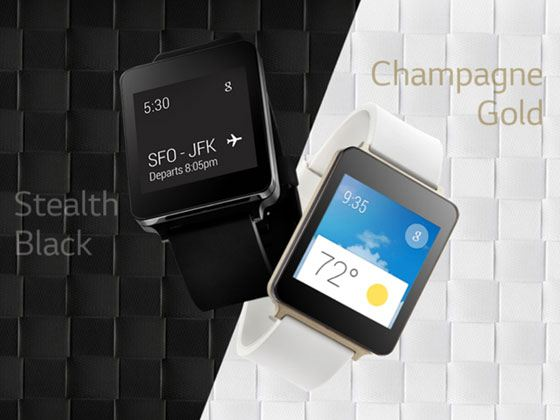 Компания LG презентовала «умные часы» G Watch в двух цветовых решениях