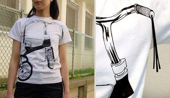 Принты на футболках - есть где разгуляться фантазии