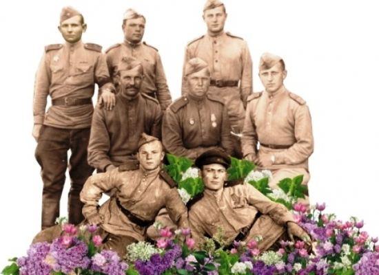 На фоне композиции «Солдаты» смогут сфотографироваться все желающие