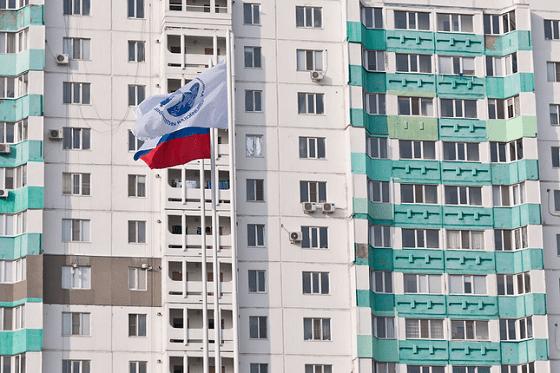 На стройплощадке строительной компании «Евразийская интеграция»