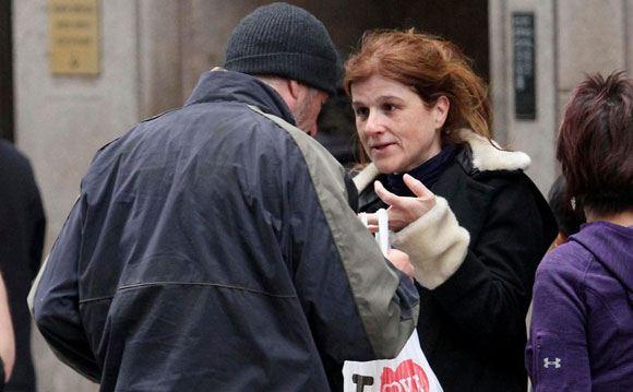 Француженка приняла Ричарда Гира за настоящего бездомного