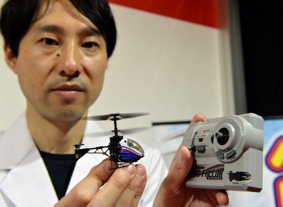 Вертолетик Nano-Falcon хорош всем кроме емкости аккумулятора