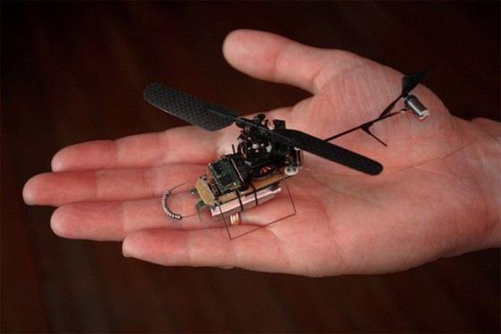 Prox Dynamics один из самых маленьких беспилотников
