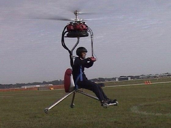 GEN H-4 самый маленький управляемый вертолет в мире