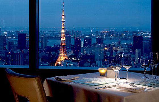 Ritz-Carlton Tokyo - ������ � ������ ����� ������� ������