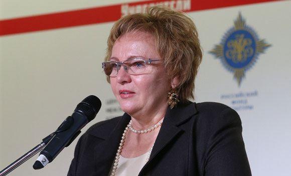 Экс-супруга Владимира Путина выступила на церемонии вручения литературных наград