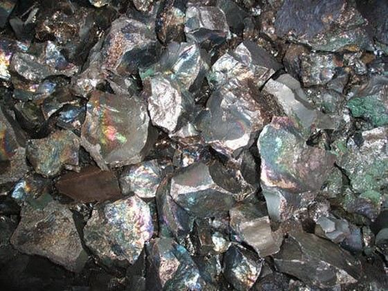 Марганец относится к металлам, которые часто встречаются в природе