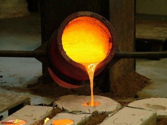 Железо очень распространенный металл