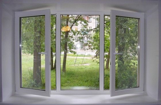 Из легкого и прочного алюминия делают профили пластиковых окон