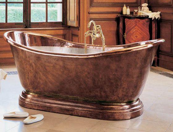 В стильной ванной захочется лежать вечно