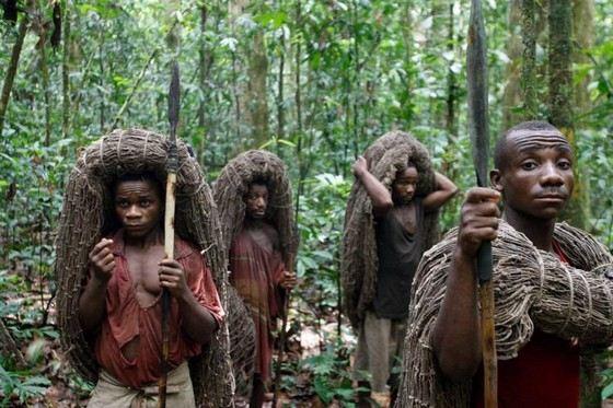 Мбути - самое низкорослое племя