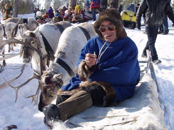 Ханты - один из самых невысоких народов, живущих в России