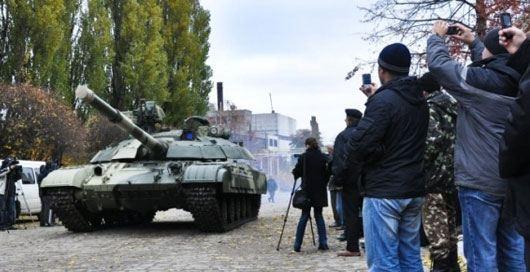 Минобороны Украины опровергло информацию об учениях в центре Киева