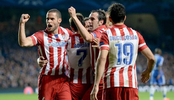 «Атлетико» сразится в финале Лиги чемпионов с «Реалом»