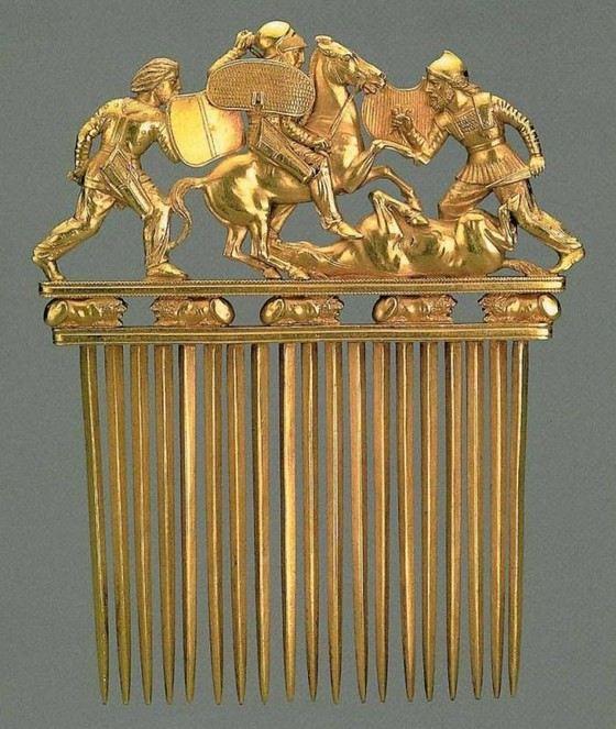 Мягкое золото могли обрабатывать даже древние племена