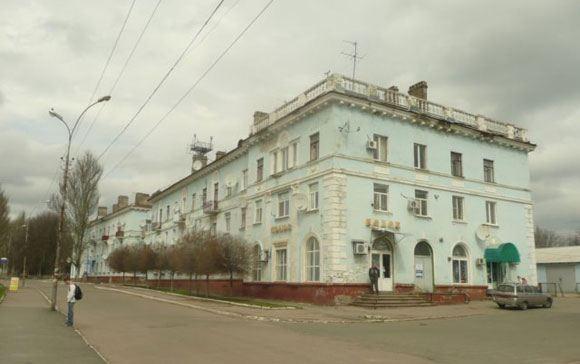 Ополченцы захватили власть в Амвросиевке, Донецкая область