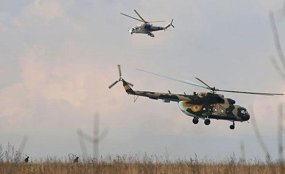 Украинские войска наступают на Славянск