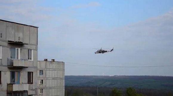 Силовики в Славянске задержали подозреваемых в стрельбе по вертолетам