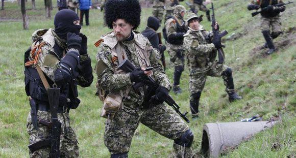 У Славянска снова начался бой