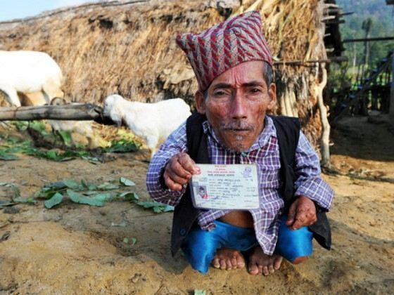 Карлик Чандра Бахадур Данги мечтал, но не смог жениться