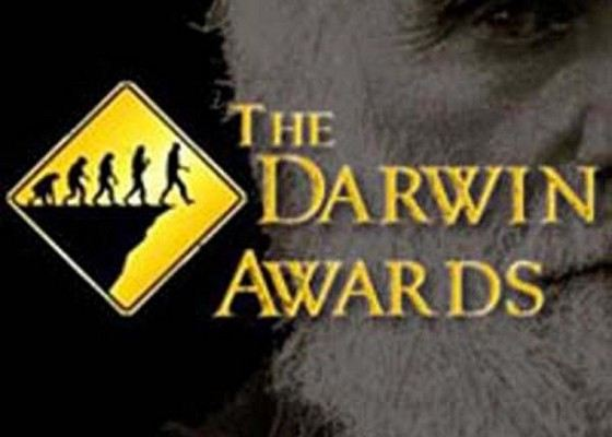 Darwin Award is one of the most famous in the world.
