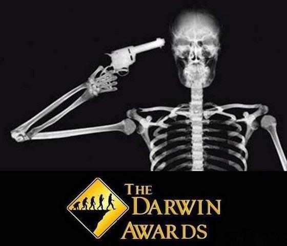 Номинанты премии Дарвина становятся популярными посмертно