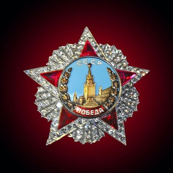 """Order """"Victory"""" - the most expensive award in the USSR"""