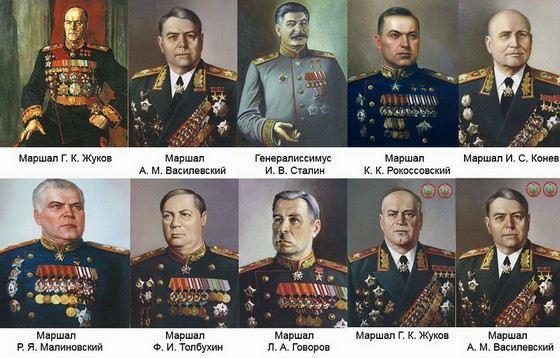 Кавалеры Ордена «Победа»