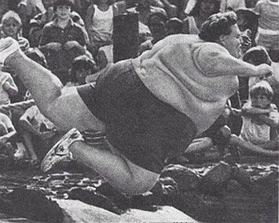 Джон Миннох - самый толстый мужчина в мире